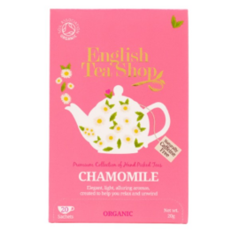 Kamilla Bio Tea - filter, 20 db, English Tea Shop, 20 g