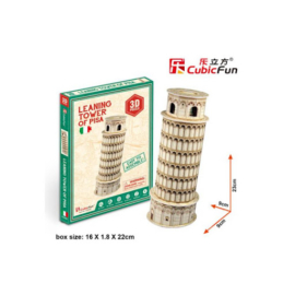 3D puzzle mini méret Leaning Tower of Pisa CubicFun