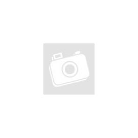 Ezüst színű nyaklánc, sötétkék cirkónia kristályos medállal