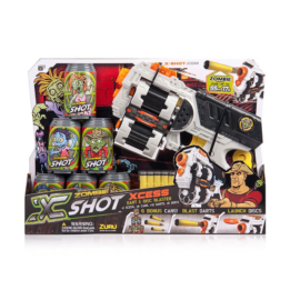 Forgótáras pisztoly szett - Zombie X Shot