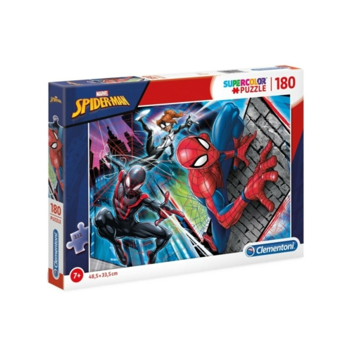 180 db-os SuperColor puzzle - Pókember v