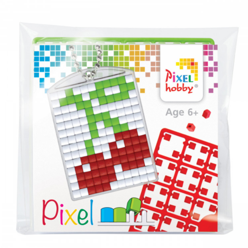 Kulcstartó szett cseresznye Pixelhobby