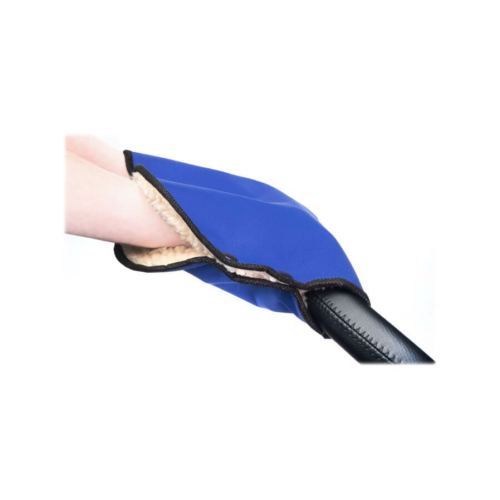 SENSILLO Kézmelegítő babakocsira Sensillo 40x45 blue