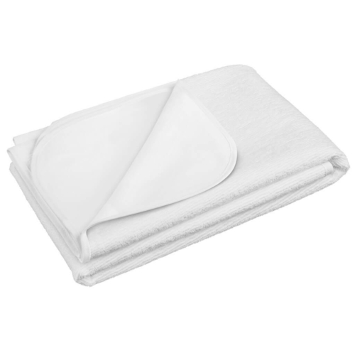 AKUKU Vízálló gumi alátét Akuku 70x140 fehér