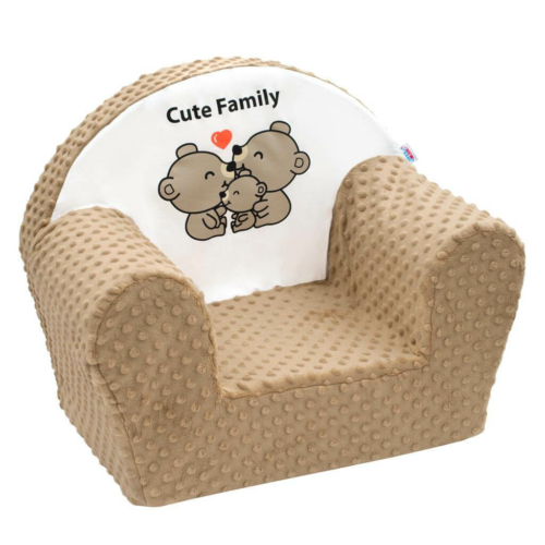 NEW BABY Gyermek fotel New Baby Cute Family cappuccino