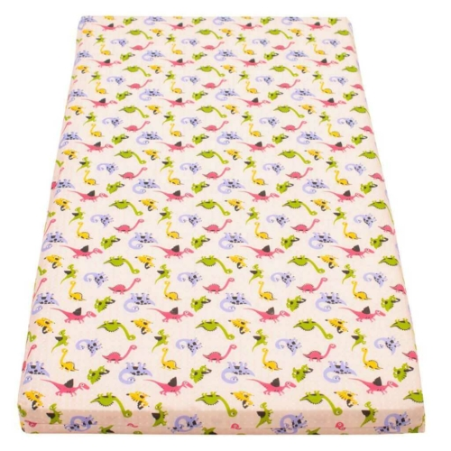 NEW BABY Gyerek habszivacs matrac New Baby 120x60 rózsaszín - különféle minta