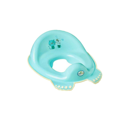 TEGA Gyermek WC ülőke csúszásmentes Kutyus és cica kék