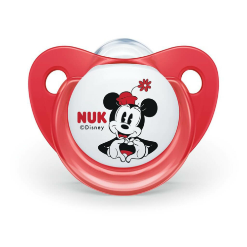 NUK Baba cumi Trendline NUK Disney Mickey 6-18h piros Box