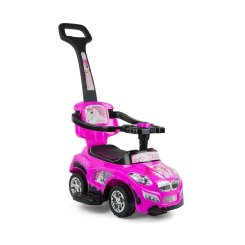 MILLY MALLY Gyermekjármű 2in1 Milly Mally Happy pink