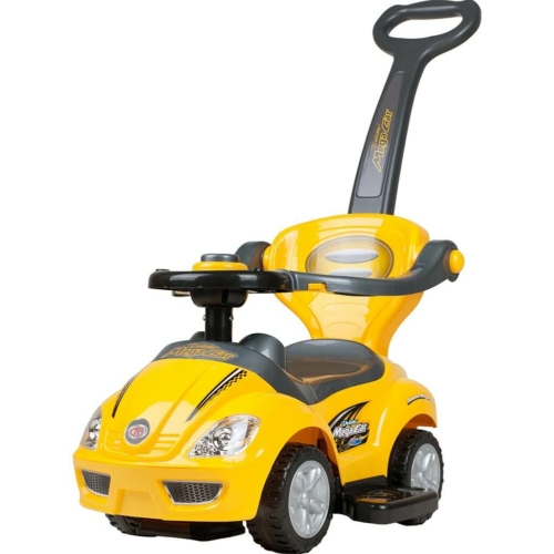 BAYO Gyermek jármű 3az1-ben Bayo Mega Car yellow