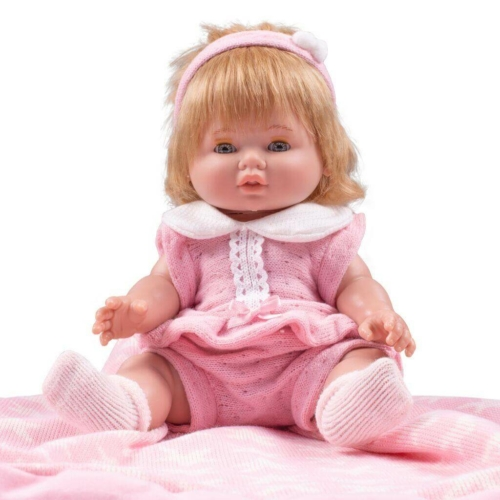 Berbesa Luxus spanyol baba-kisbaba Berbesa Amalia 35cm