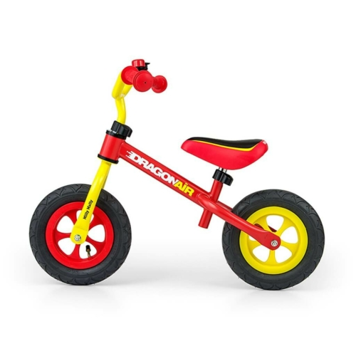 MILLY MALLY Gyerek futóbicikli Milly Mally Dragon Air yellow-red