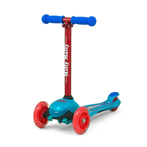 MILLY MALLY Gyerek roller Milly Mally Scooter Zapp blue coral