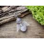 Kép 3/3 - RM alkotóműhely- Szenvedély angyal botswana achát ásvány medál