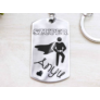 Kép 1/7 - RM alkotóműhely Szuper Anyu acél szögletes medálos kulcstartó