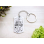 Kép 3/7 - RM alkotóműhely- Legyen szerencséd acél medálos kulcstartó