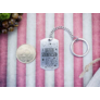 Kép 5/7 - RM alkotóműhely- Legyen szerencséd acél medálos kulcstartó
