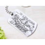 Kép 1/7 - RM alkotóműhely Legjobb dadus medálos kulcstartó