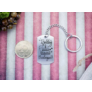 Kép 5/7 - RM alkotóműhely- Boldog szülinapot acél medálos kulcstartó