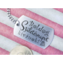 Kép 6/7 - RM alkotóműhely- Boldog születésnapot kívánok acél medálos kulcstartó