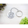 Kép 4/5 - RM alkotóműhely- Minden nap új kezdet acél medálos kulcstartó
