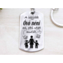 Kép 1/5 - RM alkotóműhely A legjobb óvó néni az aki medálos kulcstartó