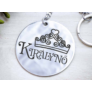 Kép 5/5 - RM alkotóműhely- Királynőm acél medálos kulcstartó