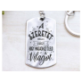 Kép 5/5 - RM alkotóműhely- A szeretet maga a vágy acél medálos kulcstartó