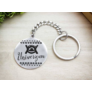 Kép 3/5 - RM alkotóműhely- Univerzum afrikai szimbólum acél medálos kulcstartó