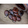 Kép 1/5 - Barna obszidián csepp ásvány medál