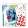 Kép 2/2 - Kulcstartó szett hangjegy Pixelhobby