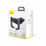 Kép 5/5 - Baseus Mini Electric automata telefontartó szellőzőrácsra - Fekete