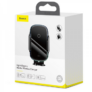 Kép 3/6 - Baseus Smart elektromos autós telefontartó és vezeték nélküli töltő Szélvédőre és szellőzőrácsra (15W) - Fekete